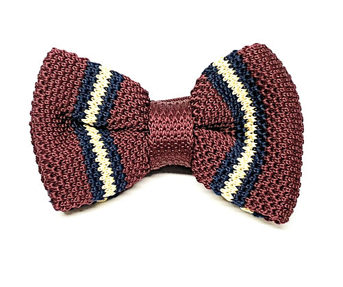 Tutor Bow Tie Set Collection-Burgundy