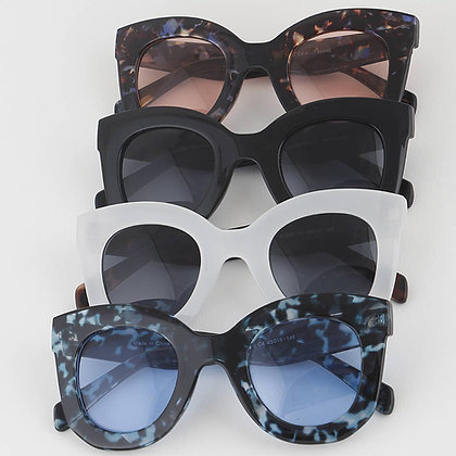 Cat Eye Round Sunglasses