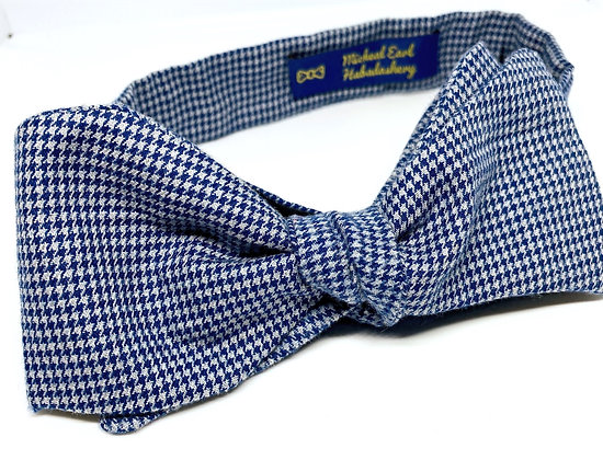 Custom Made Houndstooth Bowtie