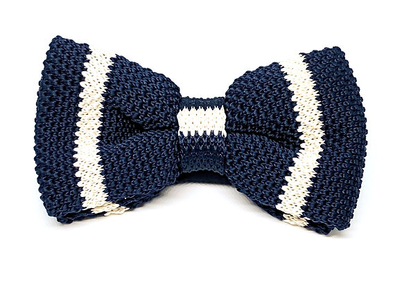 Tutor Bow Tie Set Collection-Navy Blue