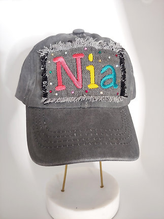 Bling Vintage Custom Hat