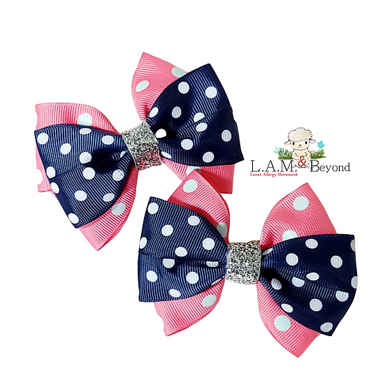 Dots (No Tag) Includes 2 Bows