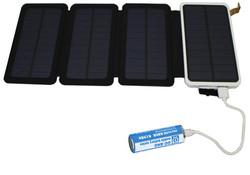 ソーラーモバイルバッテリーから充電