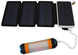 バッテリーからLEDライトを充電
