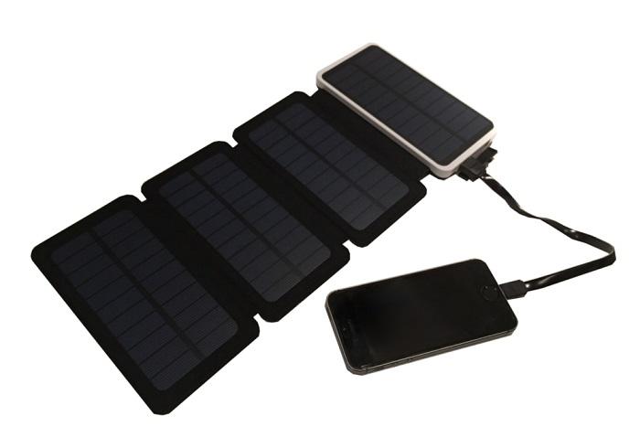 バッテリーで携帯充電