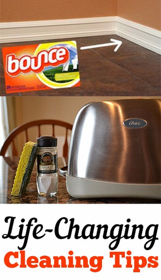 Life Changing House Cleaning Hacks