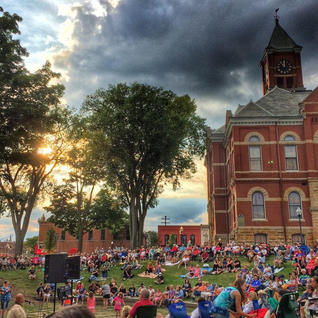 Concerts at the Howell Court House