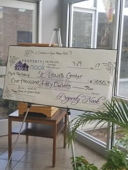 Generous Donation on Hunts Behalf