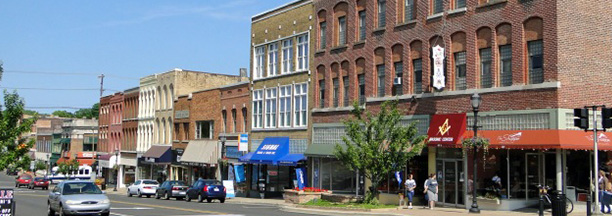 Downtown Howell Michigan