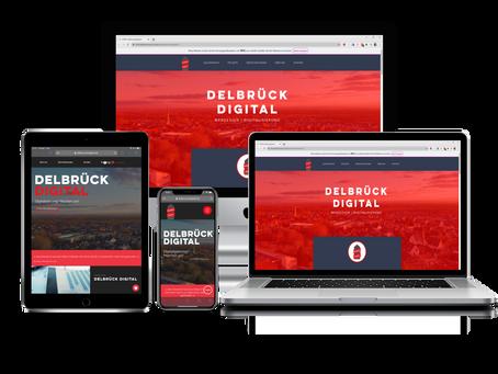 Launch: Neue Website für Delbrück Digital