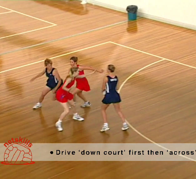 2 on 2 - Down Court
