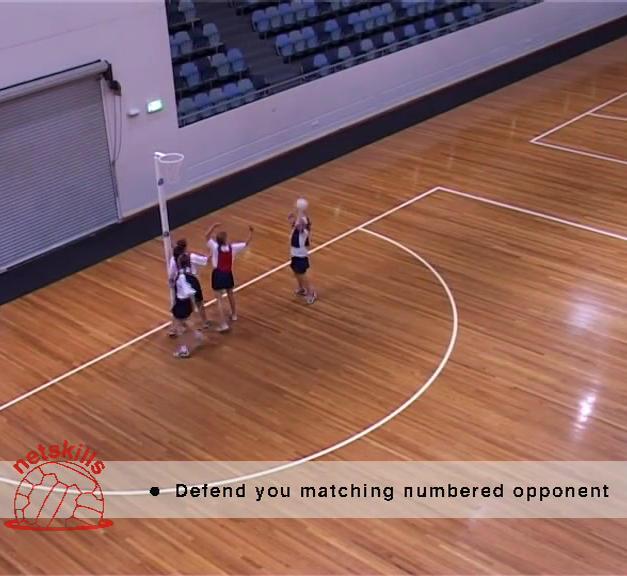 Numbers Netball - Full Court