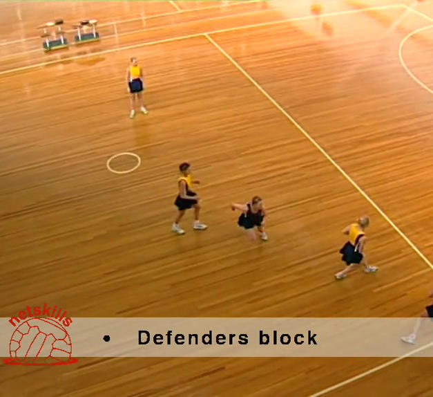 Across a Third - 3 on 2