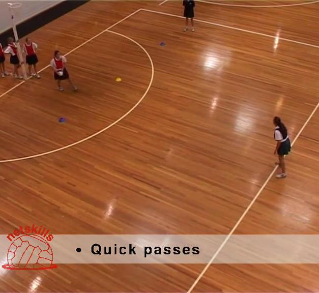 Long Ball Netball Tag