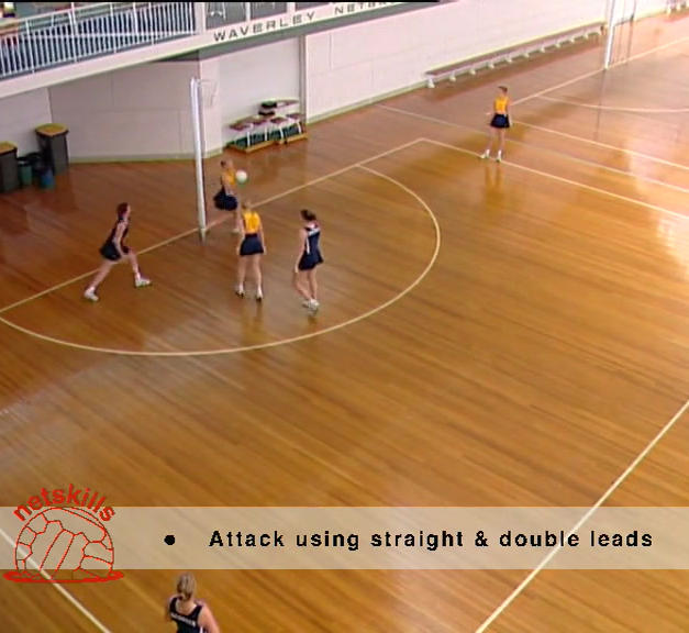 Numbers Netball - One End