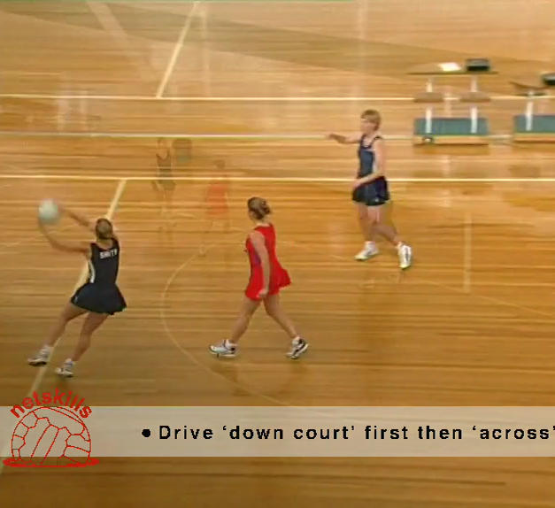 Keeping Off - Down & Across Court