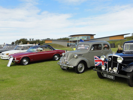 Classic cars return to the site