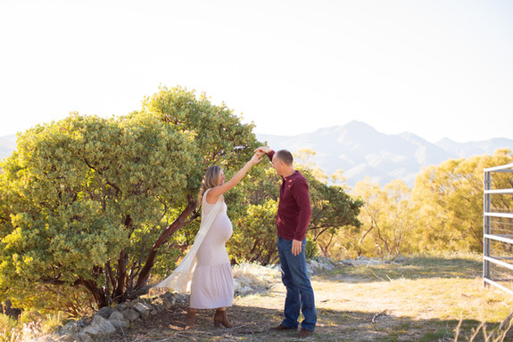 These folks invited me to their beautiful home in the mountains. It was a wonderful time capturing the experience and joy of their pregnancy. I love working with them!