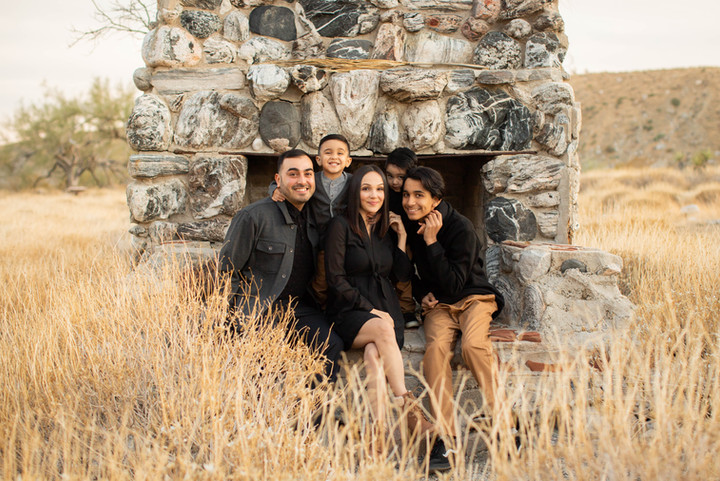This romantic family session with all folks dressed for Fall was total magic! The location is actually home to this neat Chimney that is the only remaining structure of a road house that was once here long ago in the horse and wagon days. I love history and sunsets.