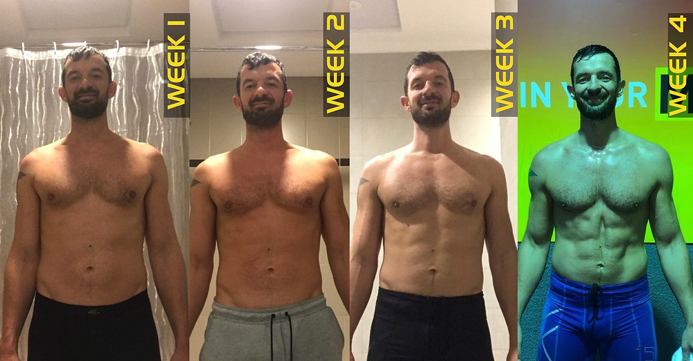 4 weeks in ripped A 4
