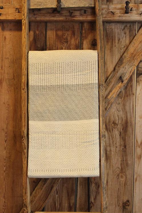 Decke Punkt/Strich off-white