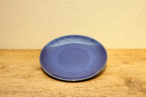 Frühstücksteller uni dunkelblau