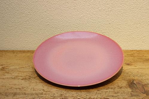 Speiseteller uni pink
