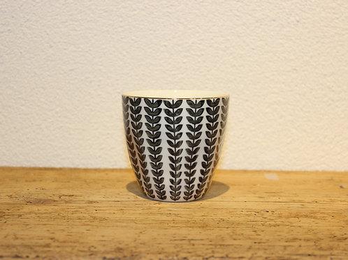 Kaffebecher Blätter