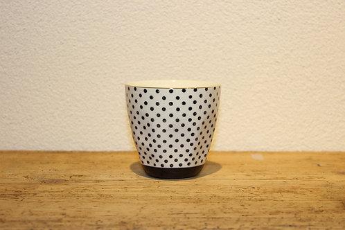 Kaffebecher Punkte