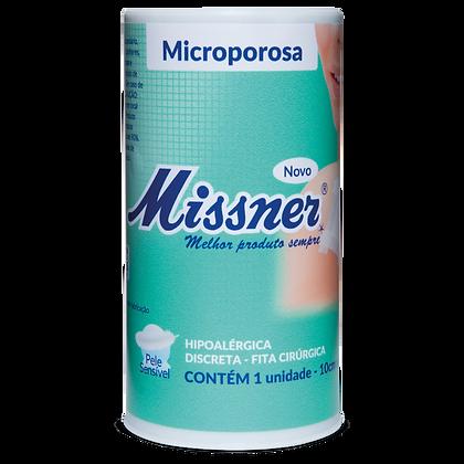 Fita Microporosa Branco Missner 10cm x 4,5m