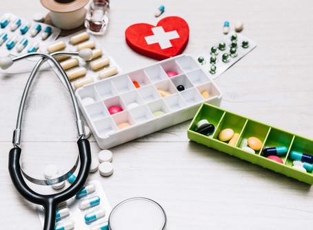 Ação dos medicamentos no reparo e cicatrização de feridas.