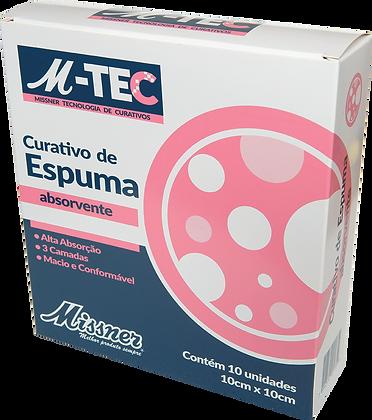 Curativo de Espuma Absorvente M-TEC 10cm x 10cm