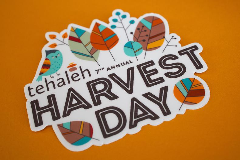 Tehaleh Harvest Day Sticker