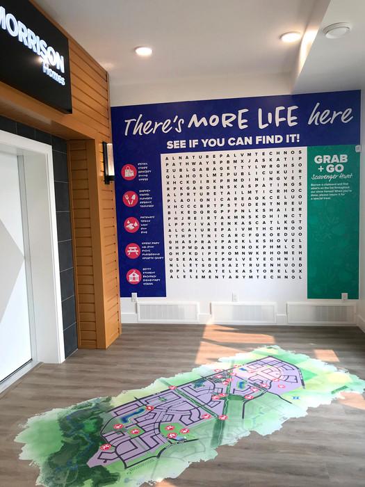 Chappelle Gardens Show Home Village Word Find