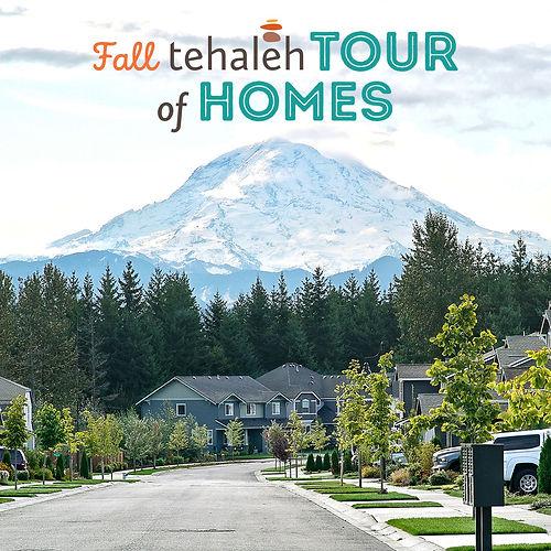 Tehaleh Tour of Homes view of Mount Ranier