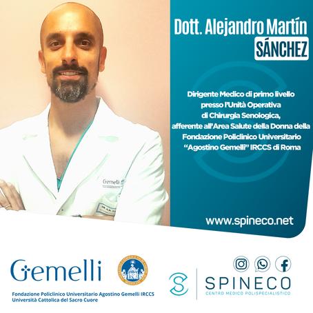 Nuova collaborazione con il collega Dott. A.M. Sánchez (Senologo)