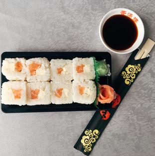 Maki neige saumon cheese