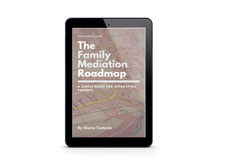 The Family Mediation Roadmap: a simple guide for separating parents