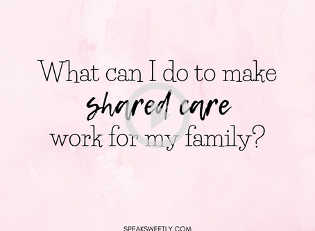 How can I make Shared Care work?