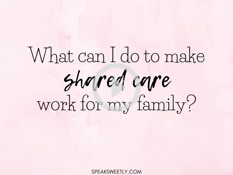 Q&A2 - How can I make Shared Care work?