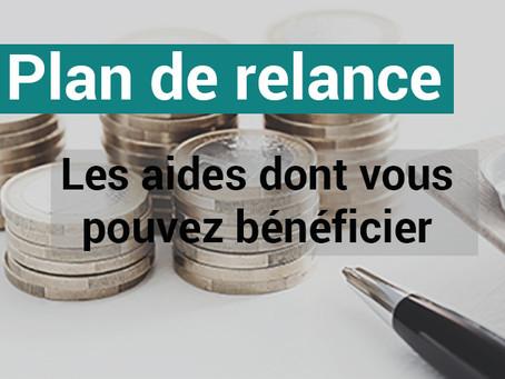 Plan de relance : Aide aux investissements.