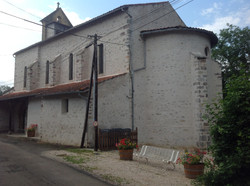 L'église fleurie