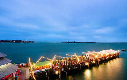 sunset pier ocean key resort key west weddings
