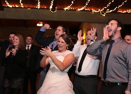 florida wedding bride dancing
