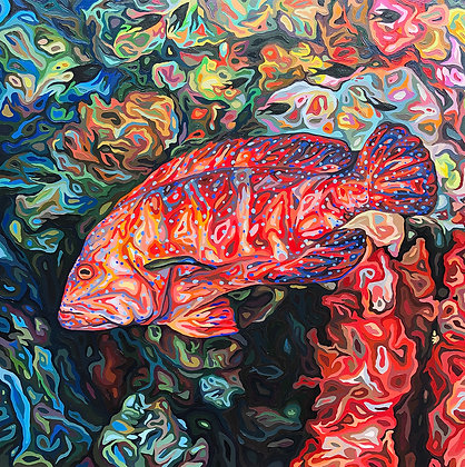 """""""Miniatus Grouper,"""" Limited Edition of 23"""
