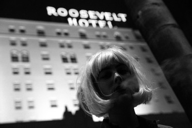 Nora Arnezeder at Roosevelt Hotel