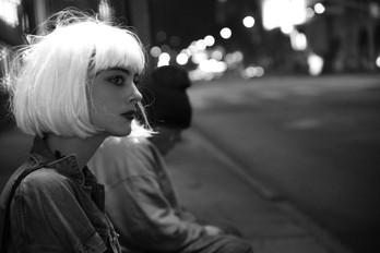 Nora Arnezeder street shooting