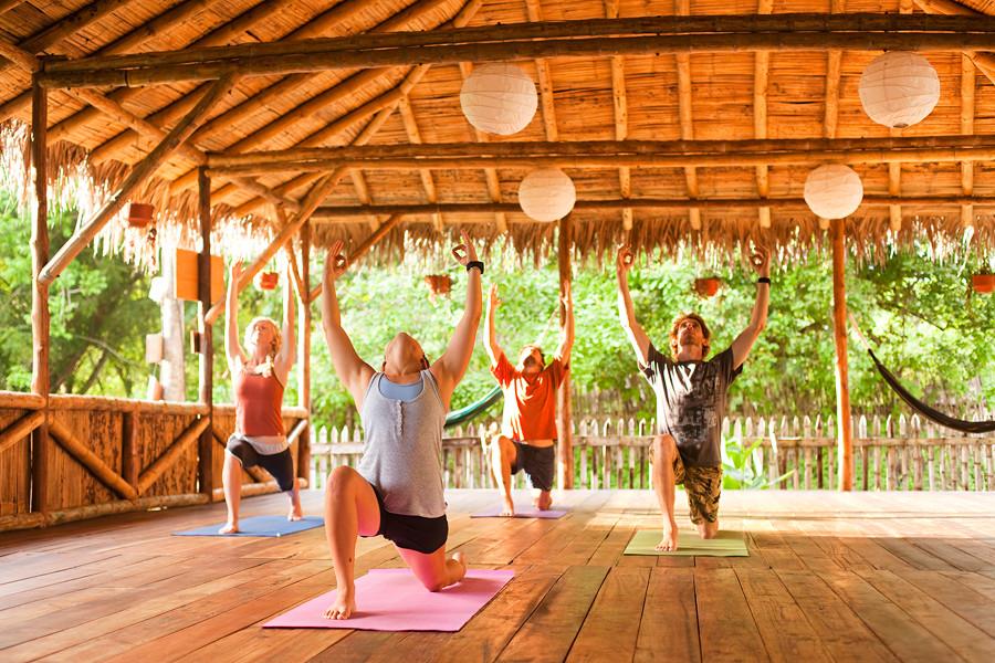 yoga class ecuador