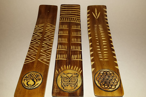 """2"""" Wooden Incense Holders"""