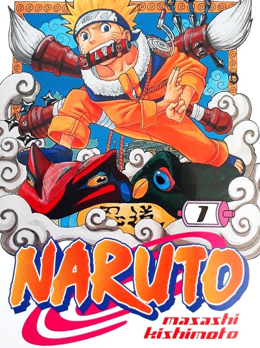 Capa do mangá Naruto de 1999